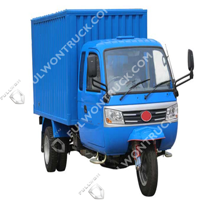 Fullwon RHD 3 Wheels Truck/Tricycle with Full Cab And Cargo Box