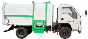Fullwon Garbage Truck Selfloading And Unloading 7 Cubic 13 Cubic