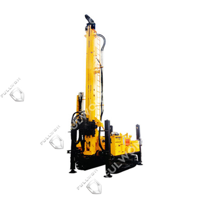 Fullwon SWS600B Crawler Mounted Versatile Well Drilling Rig