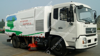 Fullwon Road Cleaning Truck Mounted Sweeper Dust Collection(Dongfeng Chassis)