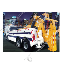 Fullwon White Boom And Sling Integrated Wrecker with Sinotruk Chassis
