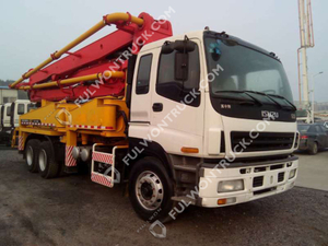 38m Concrete Pump Truck with Isuzu Chassis Supply by Fullwon