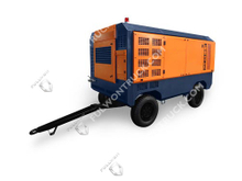 Fullwon New Single Pole High Pressure Series Mobile Screw Air Compressor 1