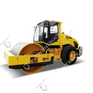 SR16/SR16P Full-Hydraulic Single-Drum Vibratory Road Roller Supply by Fullwon