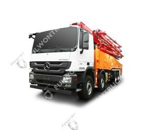 53m Concrete Pump Truck with Benz Chassis Supply by Fullwon