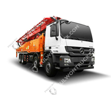 56m Concrete Pump Truck with Benz Chassis Supply by Fullwon