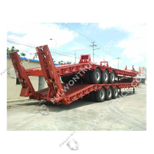 Fullwon 3 Axles Low Bed Semi Trailer