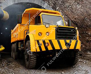 SWK153 Tunnel Dump Truck Supply by Fullwon