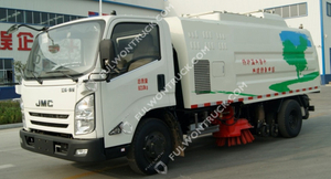 Fullwon Road Cleaning Truck Mounted Sweeper (dust Collection)