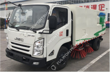 Fullwon Light Truck Mounted Road Sweeper Sanitation Truck (twin Engine)