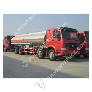 Sinotruk HOWO 8x4 20-30m³ Oil Tank Truck From Fullwon